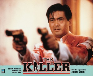 Chow Yun Fat delivers justice in The Killer!