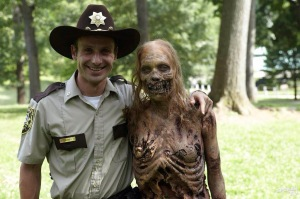 "Andrew Lincoln as Rick Grimes in ""The Walking Dead"""