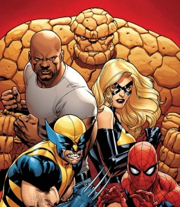 Luke Cage leads a heavy hitting team of 'New Avengers'