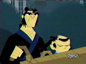 Itto makes an appearance on 'Samurai Jack' ..