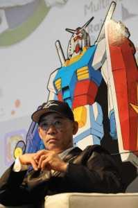 Gudam franchise creator, Tomino  Yoshiyuki