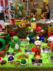 Lots and lots of Super Mario goodies!